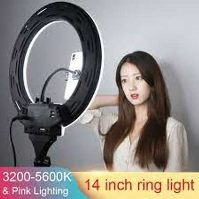 14inch Remote Touch LED Ring Light Camera Phone Photography image 1