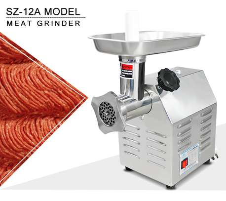 Desktop Meat Grinder Commercial Stainless Steel Household Meat Grinder Multifunctional Automatic Meat Sausage Filling Machine image 1
