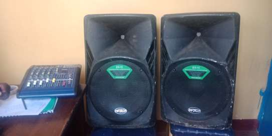 Affordable Public Address Sound System for hire image 1