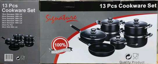 Signature Nonstick cookware sets