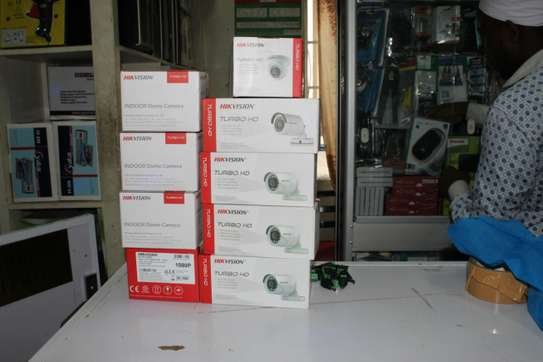 Eight 8 Hikvision CCTV Cameras Security Surveillance Complete System