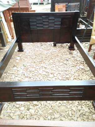 5*6 Hardwood Mahogany Bed
