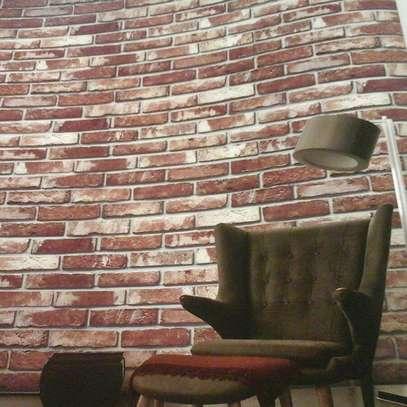 foam self adhesive wallpaper brick image 4