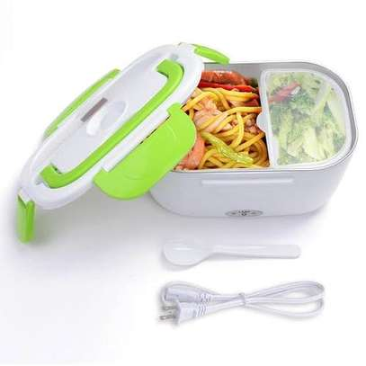 Light Weight 1.5 Liter Electric Heated Lunch Box Food Warmer image 1