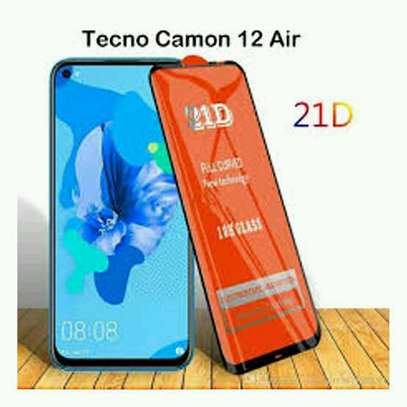 Tecno Camon 12 Air 3D Glass Protector in shop image 1