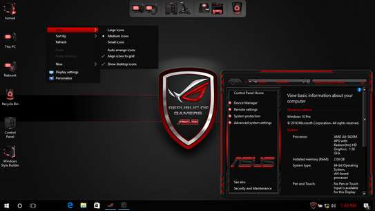 Windows 10 ROG Edition V6 Pre-activated With Lifetime License image 1