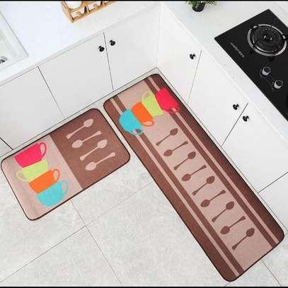 2pcs kitchen mat set image 1