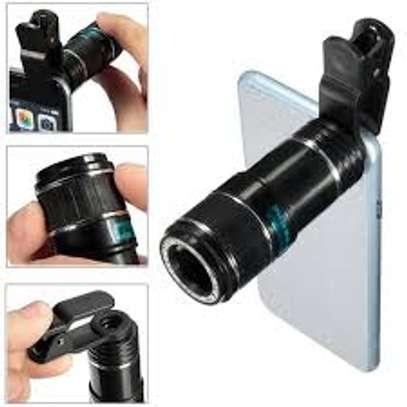 Smartphone Mobile Blur Background Telescope Lens kit image 1