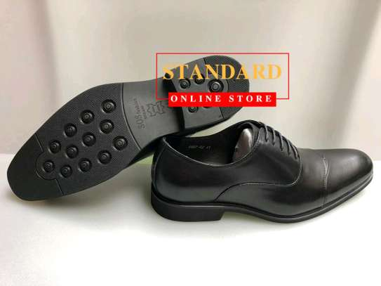 Men's Official Italian Leather Shoes with rubber sole image 12