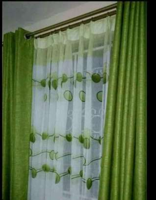 QUALITY CURTAINS WITH MATCHING SHEERS image 1