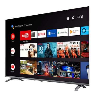 "Skyworth 55"" Class HDR 4K UHD Smart android LED TV image 2"
