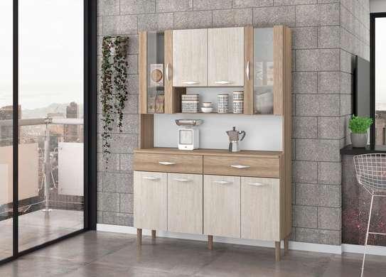 Kitchen Cabinet with 8 Doors - Kits Parana
