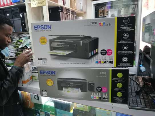 Epson L382 All in One Colored Printer image 1