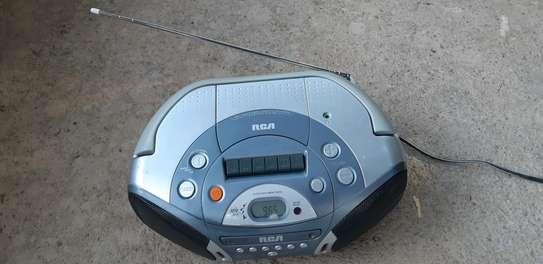 AIWA AM FM CD CASSETTE PLAYER. image 2