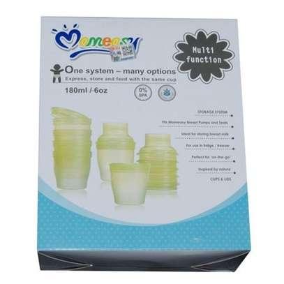 Mom Easy Multi functional Breast Milk Food Feeding System Storage Cups image 2