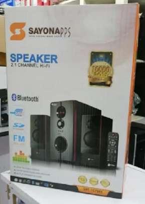 Sayona Sht-1079Bt Multimedia Speakers image 1