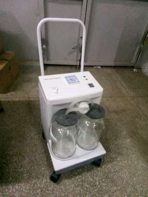Suction Machine, Electrical, With 2  Bottle image 2