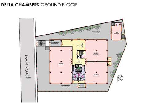 100 m² office for rent in Waiyaki Way image 4