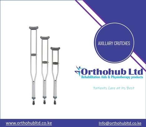 Axillary Crutches image 1