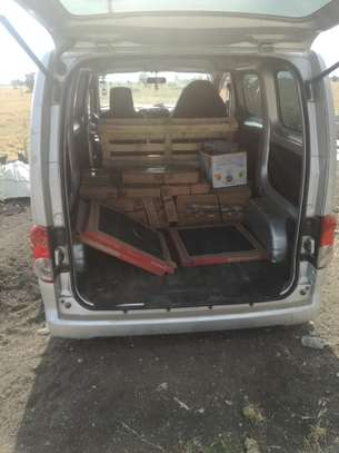 Hire a van for parcels & light cargo delivery