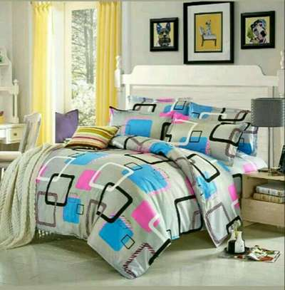 6*6 COTTON BINDED DUVETS WITH 1 BEDSHEET AND 2 PILLOW CASES