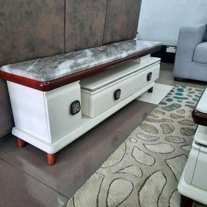 Marble Top TV Stand image 1