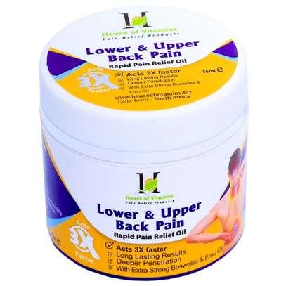 Upper Waist Lower Back Pain Oil – Backache Right Left Side