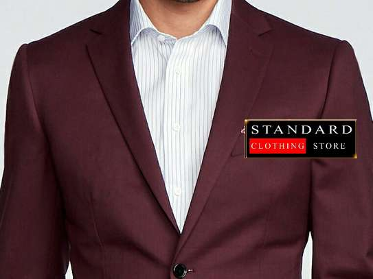 Maroon (bargundy) 2 piece and 3 piece suits image 4
