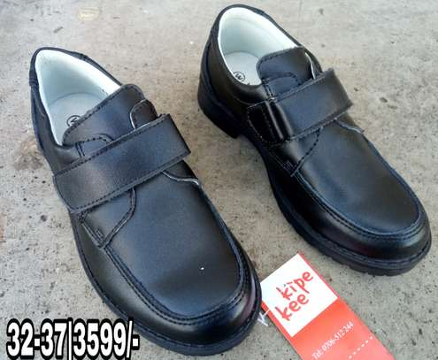 Back to school leather shoes