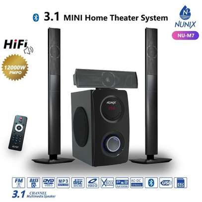 Nunix 3.1CH Home Theater Speaker System image 1