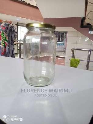 Clear Glass Jars image 1