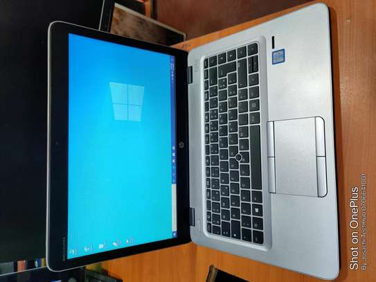 Hp 840 G3 core i5 6th Gen 8gb DDR4 ram 500gb hard disk 2.4ghz processing speed 14.0inch FHD display image 1