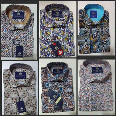 Imported Turkey floral casual shirts