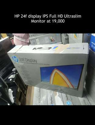 HP 24f Display IPS Full HD Ultraslim Monitor image 1