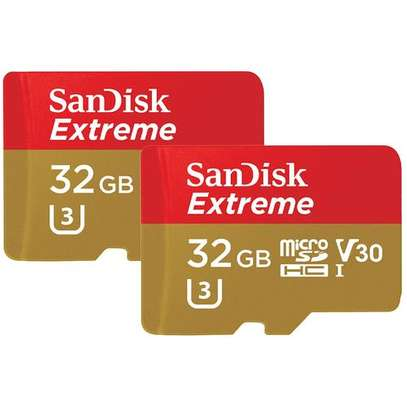 SanDisk Extreme 32 GB SDHC Memory Card up to 90 MB/s Class 10 U3 V30 image 3