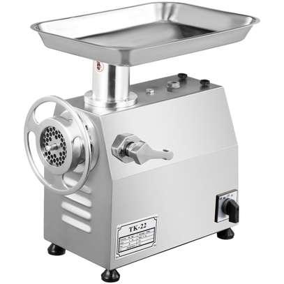 Electric Meat Grinder Mincer Sausage Maker Stuffer Food Kitchen Stainless Steel Model image 2