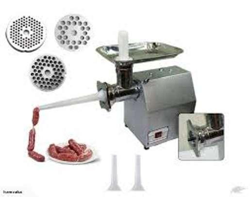 TK-12 Automatic Meat Mincing Mincer Butcher Meat Grinder 150kg/h image 1