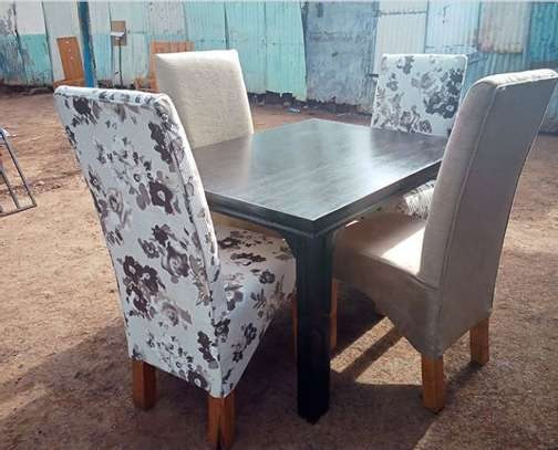 Four seater dining table image 1