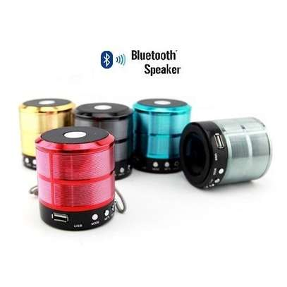 Wster Mini Speaker with Bluetooth (WS-887) image 4
