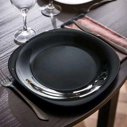Dinner Plates/Square Luminarc Plate
