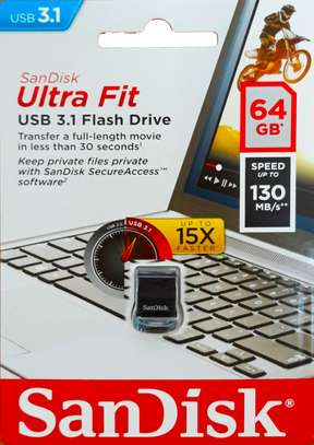 Sandisk Ultra Fit USB 3.1 Flash Disk: 64GB image 1