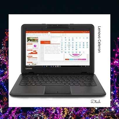 "BRAND NEW Lenovo 100e Celeron® Dual-Core N4000 1.1GHz 128GB SSD 4GB 11.6"" BT WIN10 Pro Webcam BLACK. image 2"