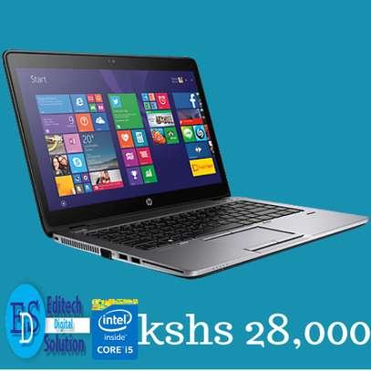 HP Elite book 840 Core i5 4Gb Ram 750Gb Hard Drive 14 Inches image 1