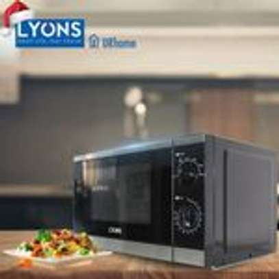 Lyons YW Microwave Oven Glass, 1200W, 20L - Black image 1