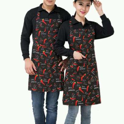 Apron black and red image 1