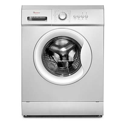 RAMTONS RW/145-Front Load Fully Automatic 6Kg Washer 1200 RPM- Silver