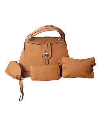 Stylish 4 piece Naturals Hand Bag image 1