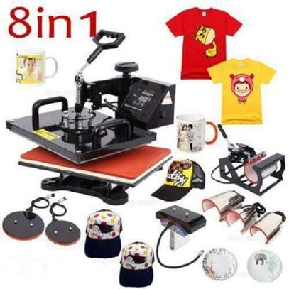 COMBO Sublimation Heat Press Machine image 1