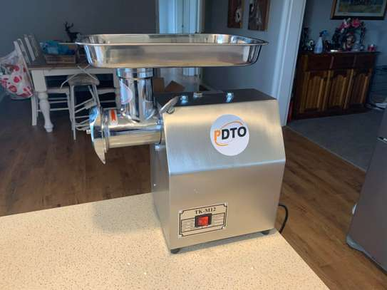 Meat Processing Machinery Stainless Steel Meat Grinders for Sale (TK-12) image 1