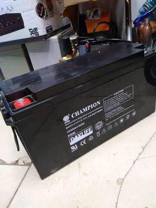 Dayliff Champion 200ah/10hr Deep Cycle Solar battery image 1